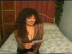 hot busty british mature in pantyhose