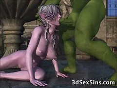 cannibal roasted girl 3d movies