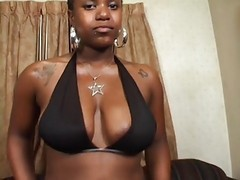 ghetto ebony slut is at it again