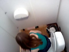 hidden cam in the toilet