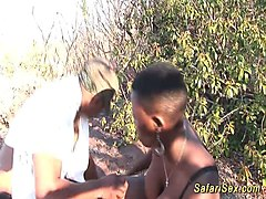 skinny african girl pounded