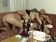 drunk party from russian student