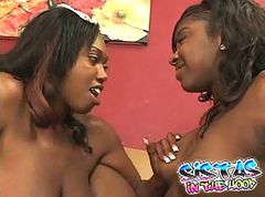 black and ebony creampies