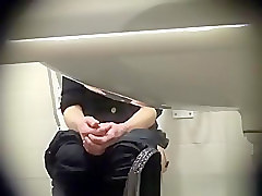 senior public toilet spy men gay