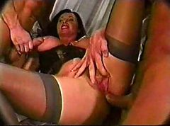 double anal group sex