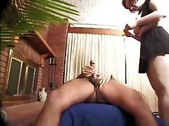 mature anal toying