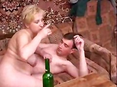 mature russian and boy