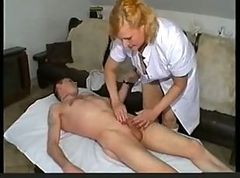 cock massage with vibrator